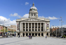 Nottingham, Nottingham Council House, Nottinghamshire © Peter Tarleton